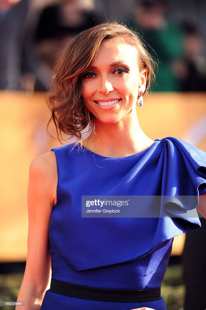 Giuliana Rancic during the 19th Annual Screen Actors Guild Awards held at The Shrine Auditorium on January 27, 2013 in Los Angeles, California.