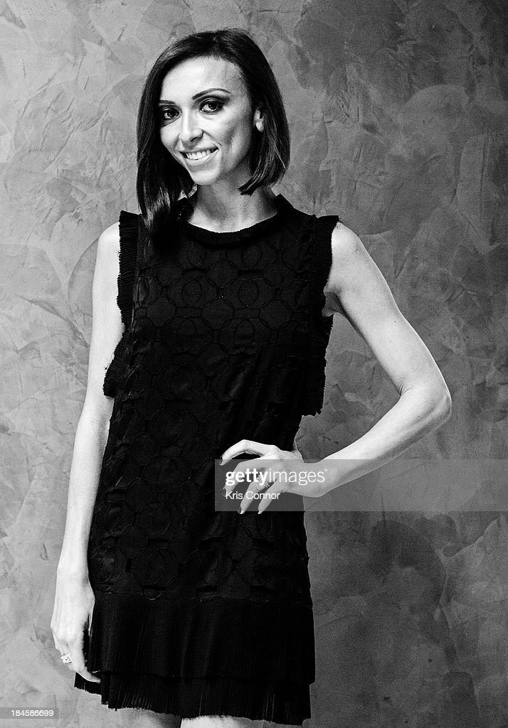 Giuliana Rancic poses for a portrait at the 2013 Columbus Day luncheon at the Embassy of Italy on October 14, 2013 in Washington, DC.