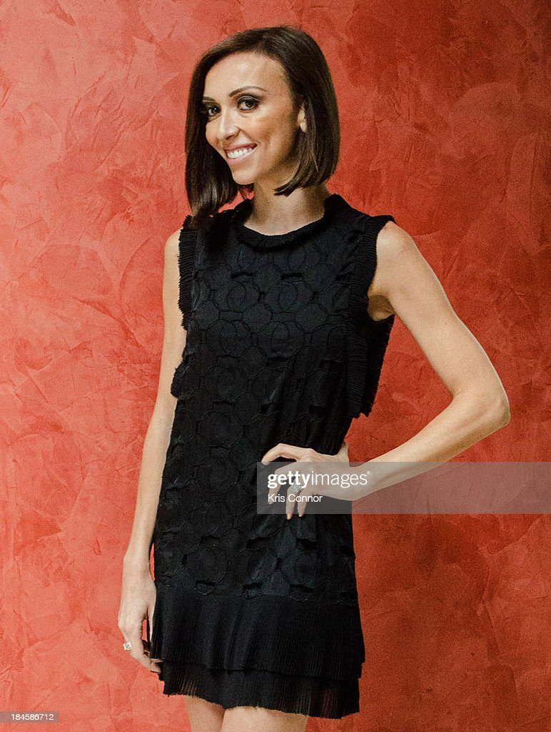 <a gi-track='captionPersonalityLinkClicked' href=/galleries/search?phrase=Giuliana+Rancic&family=editorial&specificpeople=556124 ng-click='$event.stopPropagation()'>Giuliana Rancic</a> poses for a portrait at the 2013 Columbus Day luncheon at the Embassy of Italy on October 14, 2013 in Washington, DC.