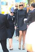 Giuliani Rancic and Kelly Osbourne attends the Joan Rivers memorial service at Temple EmanuEl on September 7 2014 in New York City