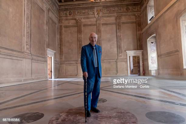 Giuliano Montaldo Film director and screenwriter during a press conference at Venice Palace where 'ArtCity' is presented a project of cultural...