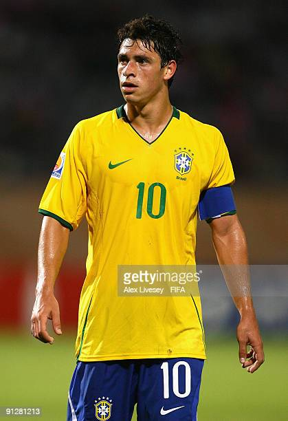 Giuliano of Brazil during the FIFA U20 World Cup Group E match between Brazil and Czech Republic at the Port Said Stadium on September 30 2009 in...