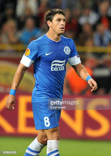 Giuliano of FC Dnipro Dnipropetrovsk in action during the UEFA Europa League group stage match between FC Dnipro Dnipropetrovsk and PSV Eindhoven on...