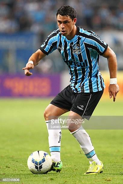 Giuliano of Gremio during the match Gremio x Goias as part of Brasileirao Series A 2014 on July 16 2014 at Arena do Gremio in Porto Alegre Brazil