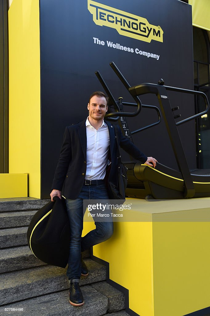 <a gi-track='captionPersonalityLinkClicked' href=/galleries/search?phrase=Giuliano+Razzoli&family=editorial&specificpeople=4835259 ng-click='$event.stopPropagation()'>Giuliano Razzoli</a> attends the Technogym Listing Ceremony at Palazzo Mezzanotte on May 3, 2016 in Milan, Italy. Technogym is the world leader in the construction of equipment for gyms, founded in 1983 by Nerio Alessandri, and was listed today on the Milan Stock Exchange.