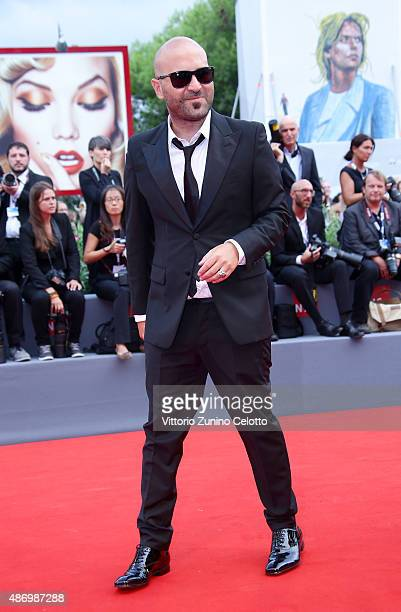 Giuliano Sangiorgi attends a premiere for 'The Wait' during the 72nd Venice Film Festival on September 5 2015 in Venice Italy