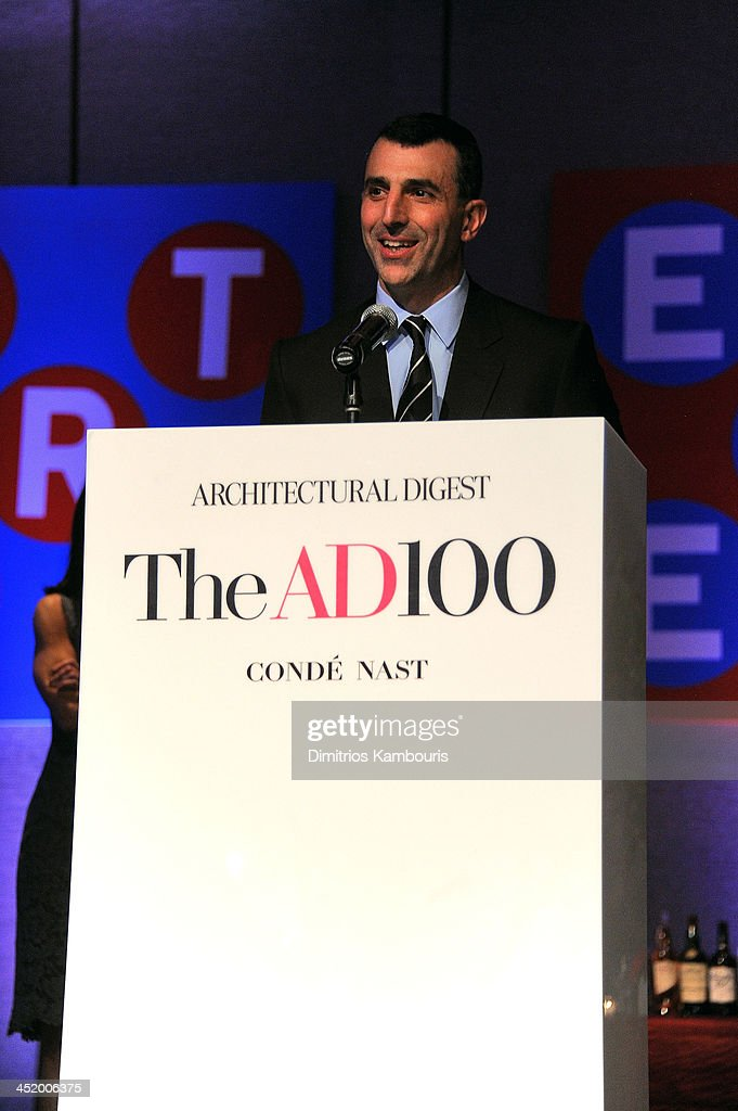 Giulio Capua, VP, Publisher at Architectural Digest attends The AD100 Gala Hosted By Architectural Digest Editor In Chief Margaret Russell at The Four Seasons Restaurant on November 25, 2013 in New York City.