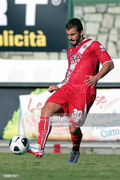 Giulio Donati of US Grosseto in action during the Serie B match between US Grosseto FC and US Sassuolo at Stadio Olimpico on October 6 2012 in...