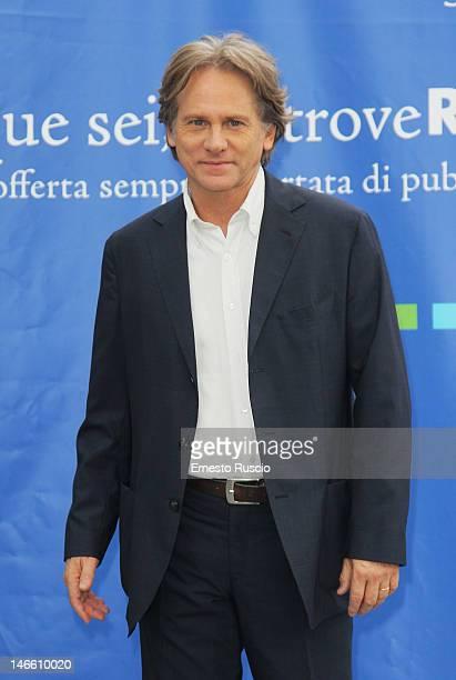 Giulio Scarpati attends the Palinsesti Rai photocall at Cavalieri Hilton Hotel on June 20 2012 in Rome Italy