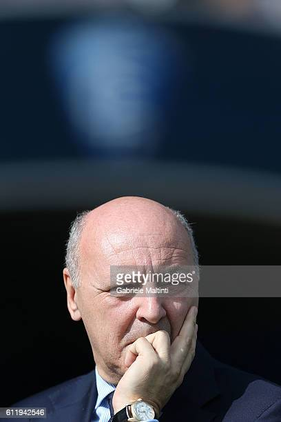 Giuseppe Marotta CEO of Juventus FC during the Serie A match between Empoli FC and Juventus FC at Stadio Carlo Castellani on October 2 2016 in Empoli...
