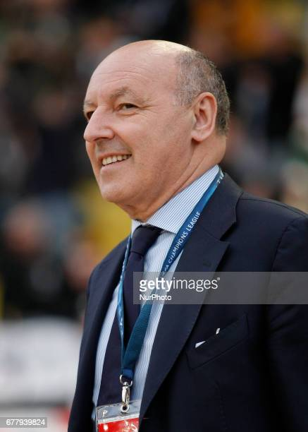 Giuseppe Marotta during Champions League Semifinals match between Juventus v Monaco in Principality of Monaco on may 3 2017