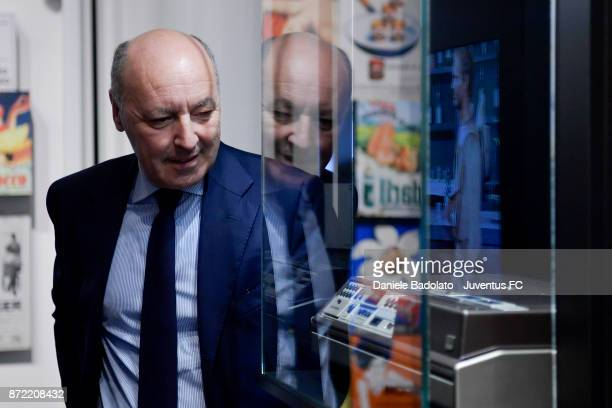 Giuseppe Marotta during the Juventus 120 Years Exhibition Opening at Juventus Museum on November 9 2017 in Turin Italy