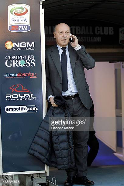 Giuseppe Marotta general manager of Juventus FC during the Serie A match between Empoli FC and Juventus FC at Stadio Carlo Castellani on November 1...