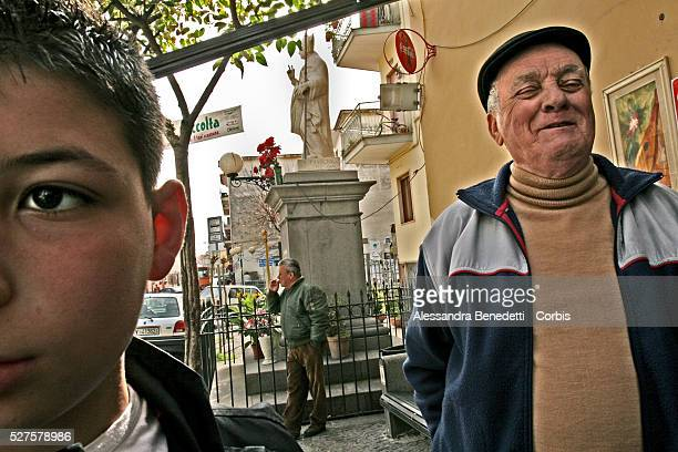 Giuseppe Raiola 78 years old lives in the little village of 'TRE CASE' in the suburbian area of Naples between Torre del Greco and Torre Annunziata A...