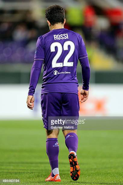 Giuseppe Rossi of ACF Fiorentina during the UEFA Europa League group I match between ACF Fiorentina and KKS Lech Poznan on October 22 2015 in...