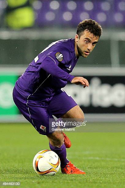 Giuseppe Rossi of ACF Fiorentina in action during the UEFA Europa League group I match between ACF Fiorentina and KKS Lech Poznan on October 22 2015...