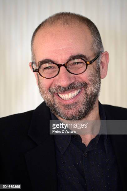 Giuseppe Tornatore attends a photocall for 'La Corrispondenza' on January 12 2016 in Milan Italy