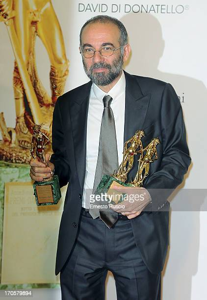 Giuseppe Tornatore attends the David di Donatello Ceremony Awards photocall at Dear on June 14 2013 in Rome Italy