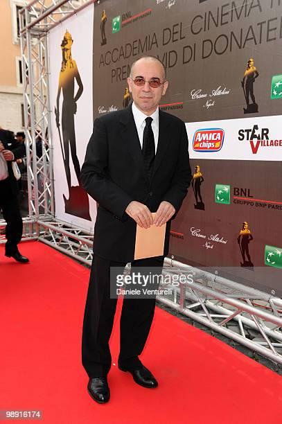 Giuseppe Tornatore attends the 'David Di Donatello' movie awards at the Auditorium Conciliazione on May 7 2010 in Rome Italy