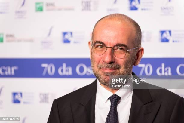 Giuseppe Tornatore attends the photocall for 'Nastri d'Argento Serata 70 da Oscar'