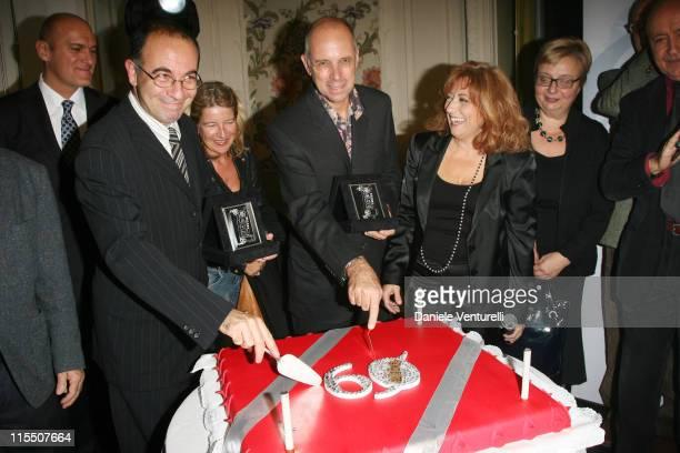 Giuseppe Tornatore Gabriele Salvatores Michael Burke and Laura Delli Colli
