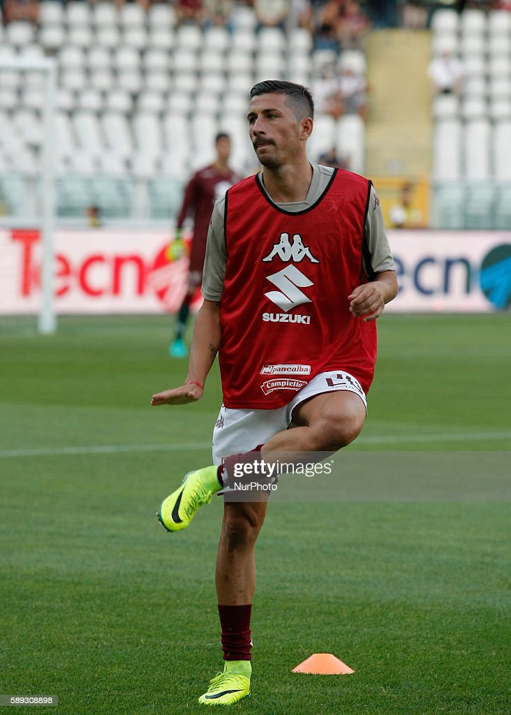 Giuseppe Vives before the Tim Cup 20162017 match between Torino FC and FC Pro Vercelli at the Olympic Stadium of Turin on august 013 2016 in Torino...