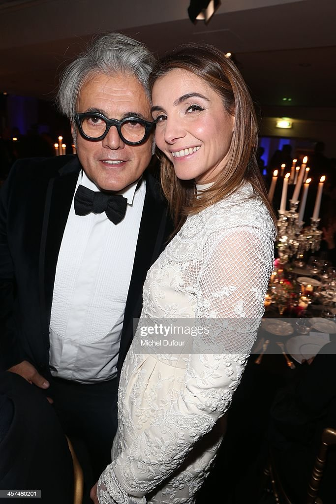 <a gi-track='captionPersonalityLinkClicked' href=/galleries/search?phrase=Giuseppe+Zanotti+-+Fashion+Designer&family=editorial&specificpeople=9764065 ng-click='$event.stopPropagation()'>Giuseppe Zanotti</a> and Clotilde Coureau attend the Annual Charity Dinner Hosted By The AEM Association Children Of The World For Rwanda on December 17, 2013 in Paris, France.