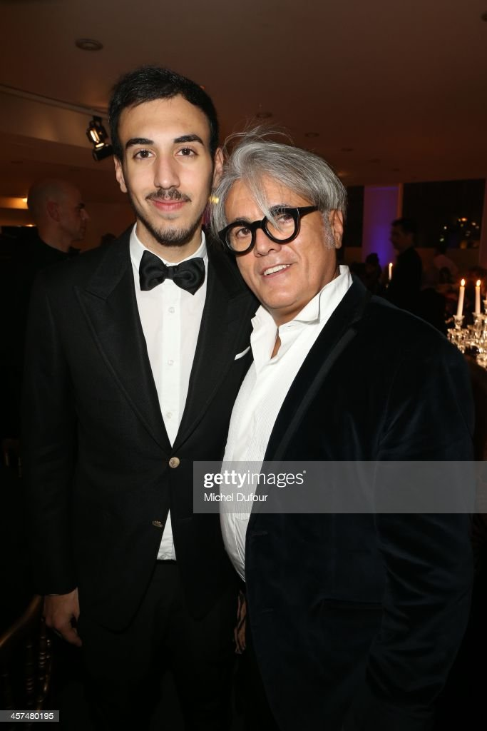<a gi-track='captionPersonalityLinkClicked' href=/galleries/search?phrase=Giuseppe+Zanotti+-+Fashion+Designer&family=editorial&specificpeople=9764065 ng-click='$event.stopPropagation()'>Giuseppe Zanotti</a> (R) and his son attend the Annual Charity Dinner Hosted By The AEM Association Children Of The World For Rwanda on December 17, 2013 in Paris, France.