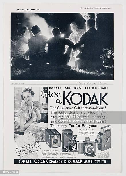 Give a Kodak 1934 Kodak Advertisement 1934