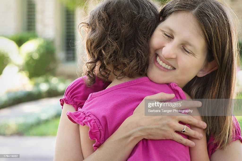 Give me a hug : Stock Photo