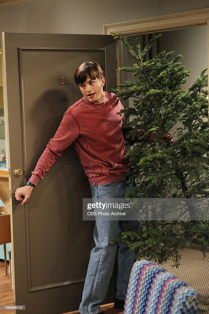 'Give Santa a Tail-Hole' -- Walden juggles having two identities - rich man and poor man, and Alan finds himself alone at Christmas, on TWO AND A HALF MEN, Thursday, Dec. 13 (8:31 - 9:01 PM, ET/PT) on the CBS Television Network. From center, Walden Schmidt (Ashton Kutcher).