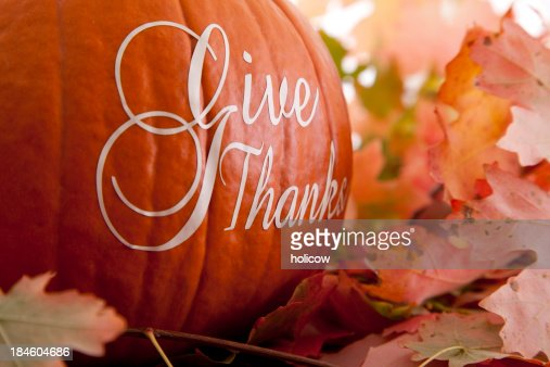 Give Thanks - Thanksgiving Theme