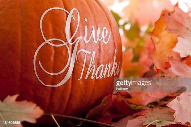 Give Thanks - Thanksgiving Theme