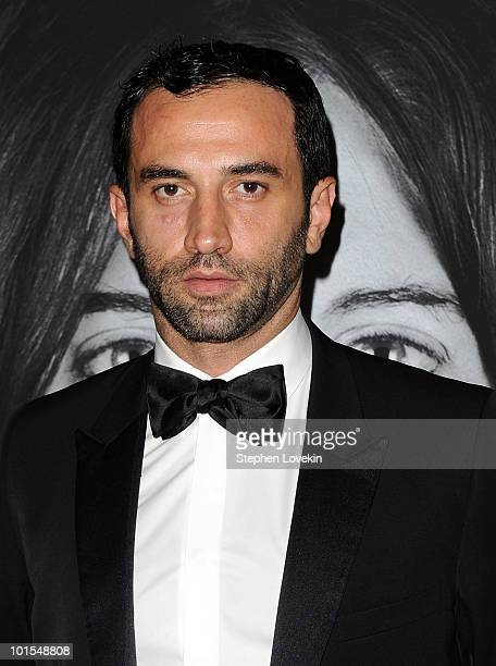 Givenchy artistic director Riccardo Tisci attends the closing of Marina Abramovic's 'The Artist is Present' hosted by Givenchy at The Museum of...