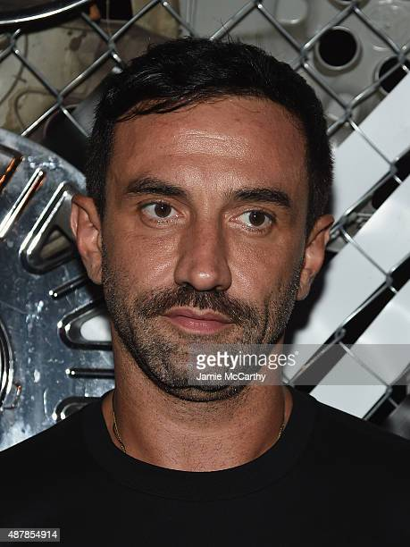 Givenchy creative director Riccardo Tisci attends the Givenchy SS16 after party on September 11 2015 in New York City