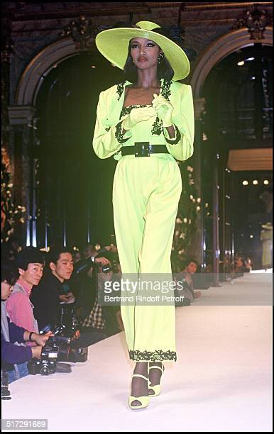 Givenchy Haute Couture fashion show spring summer 1992 in Paris