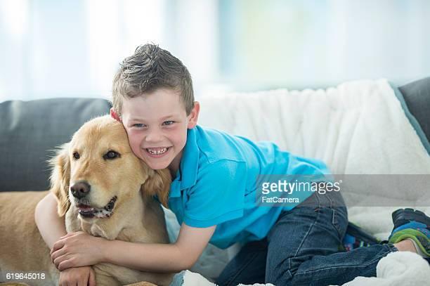 Giving a Dog a Hug