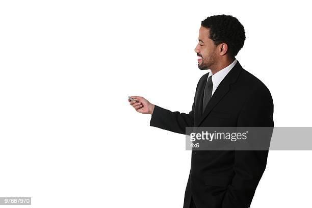 Giving a presentation