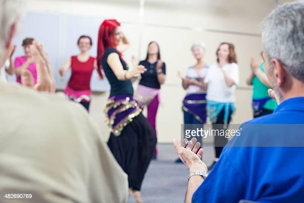 Administração de acompanhamento para profissionais Dançarina da Dança do Ventre