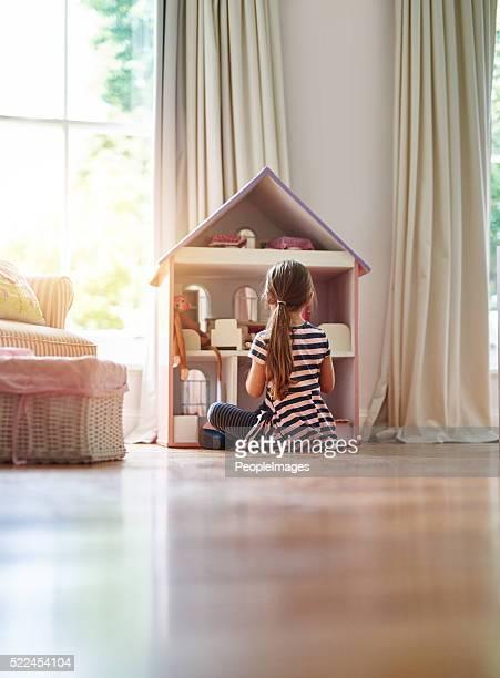 Donner ses poupées un endroit où vous vous sentirez chez vous