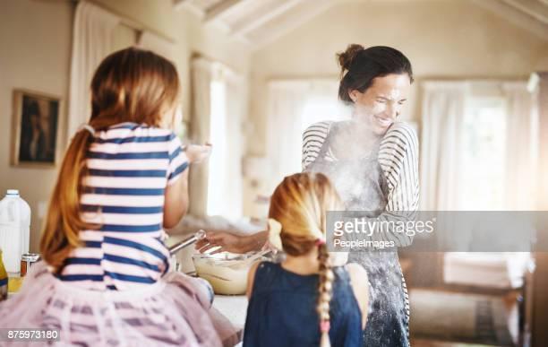 Giving her kids fun memories to cherish for life