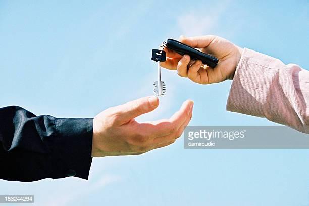 Geben Hausschlüssel