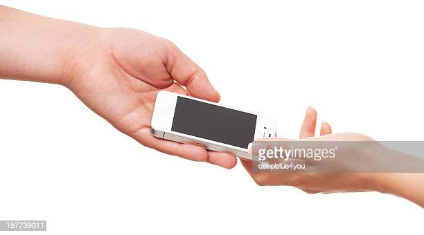 Giving iphone