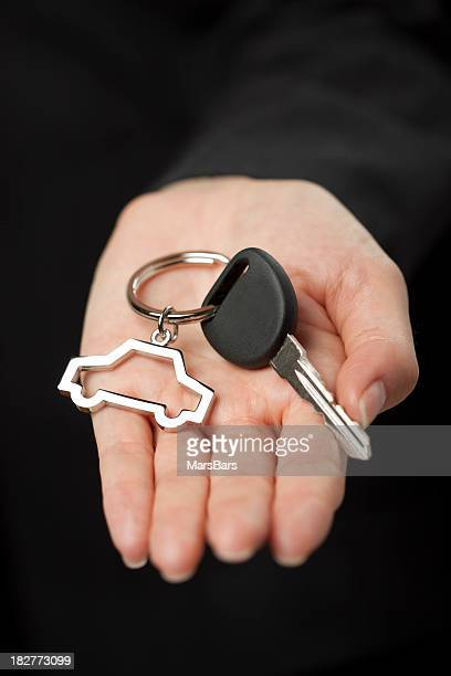 Giving new car keys