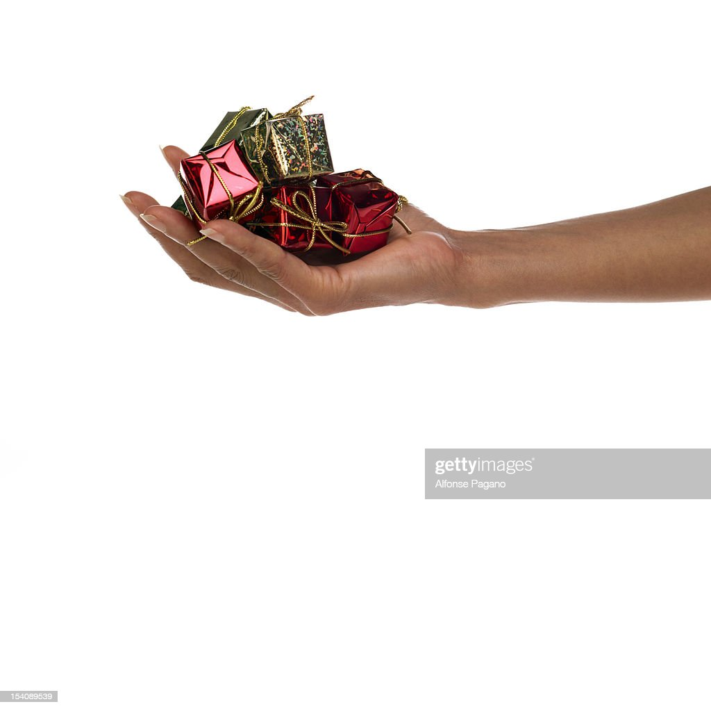 Giving : Stock Photo