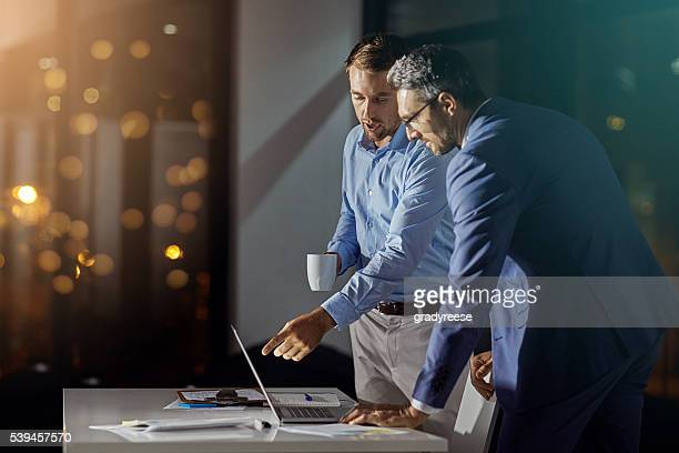 Giving the project all of their attention