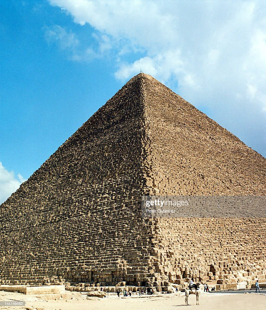 Giza, Egypt, great pyramid of Khufu Cheops