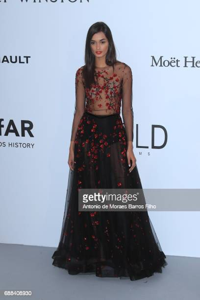 Gizele Oliveira arrives at the amfAR Gala Cannes 2017 at Hotel du CapEdenRoc on May 25 2017 in Cap d'Antibes France