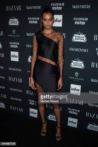 Gizele Oliveira attends 2017 Harper's Bazaar Icons at The Plaza Hotel on September 8 2017 in New York City