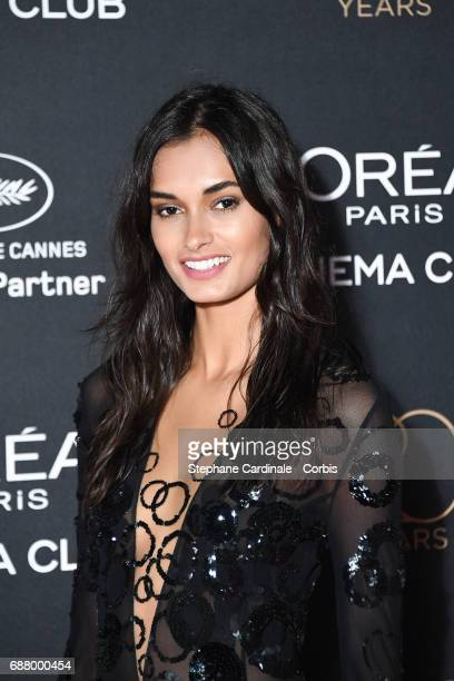 Gizele Oliveira attends Gala 20th Birthday of L'Oreal In Cannes during the 70th annual Cannes Film Festival at Martinez Hotel on May 24 2017 in...
